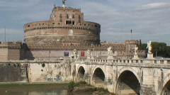 Castle Sant'Angelo - stock footage