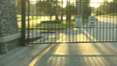 Gated Community Stock Footage
