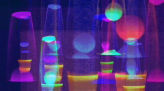 Lavalamps Stock Footage