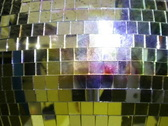 Discoball mirrorball glitter sparkle abstract party disco nightclub Stock Footage