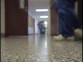 Stock Video Footage of School Hallway