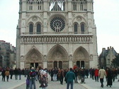 Stock Video Footage of Notre Dame (Paris)