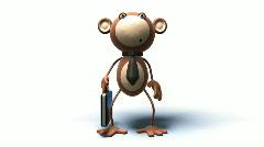 Monkey business Stock Footage