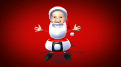 Santa Claus Stock Footage