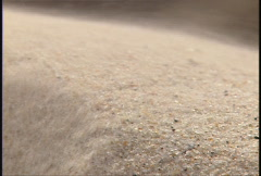 Blowing sand 2 Stock Footage