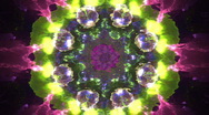 Stock Video Footage of Pulsating Kaleidoscope