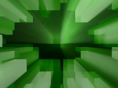 Grungy abstract blocks with light going up and down Stock Footage