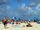 Stock Video Footage of Man on Miami Beach