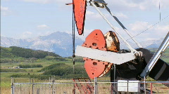 Pumpjack CU 1 Stock Footage