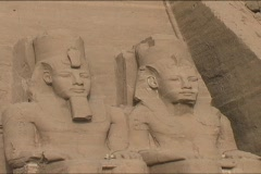 Abu Simbel Stock Footage