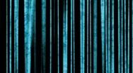 Blue metal grunge vertical bars - digital animation Stock Footage