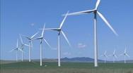 Wind Turbines WS 1 Stock Footage