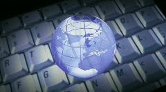 Global Orbit Stock Footage