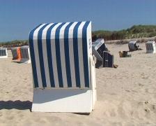 Beach chair Stock Footage