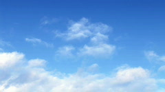 Clouds passing by Stock Footage