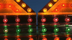 Carnival lights Stock Footage