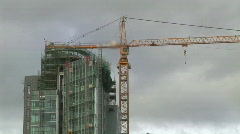 Depicting the Contruction Industry  Stock Footage