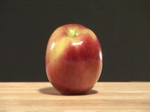 Studio shot of Apples Stock Footage