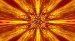 Infinite loop of hot burning explosion - stock footage