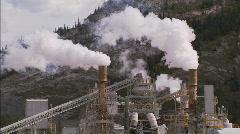 Cement Plant CU 2 Stock Footage