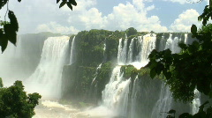 HD: Iguazu Falls in Argentina Stock Footage