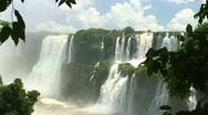 HD: Iguazu Falls in Argentina Stock Footage