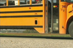 BUS STOP - stock footage