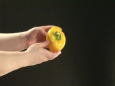 Stock Video Footage of Studio shot of  washing Peppers