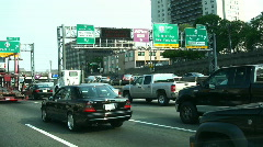 Driving into New York City Stock Footage