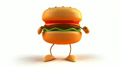 Hamburger Stock Footage