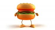 Hamburger Stock Footage