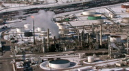 Stock Video Footage of Gas refinery Salt Lake City Utah HD