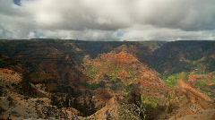 Kauai, Hawaii - Waimea Canyon - 1080 30p Stock Footage