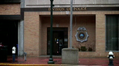 Police station1 rendered on J - stock footage