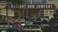 Stock Video Footage of Monterey Cannery Row