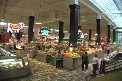 Central Market Stock Footage