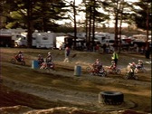 Stock Video Footage of Motocross Race