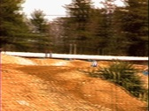 Stock Video Footage of Motocross Race Long Pan