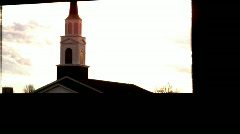 Church 2 (para) db (over exposure) Stock Footage
