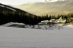 Ski lifts 4by3 Stock Footage