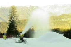 Snow blower 4by3 Stock Footage