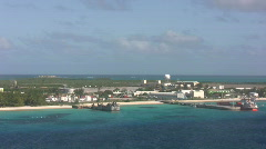 The island of Grand Turk Stock Footage