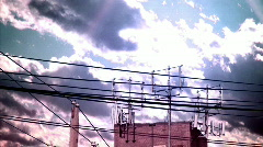 MK powerlines (dreamscape) Stock Footage