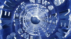News opener business Stock Footage