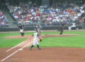 Baseball Out At First Base 02 Footage