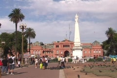Plaza de Mayo Stock Footage