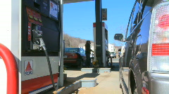 Gas Station  (1 of 5) Stock Footage