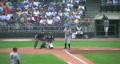 Baseball Batter Walked 02 Footage