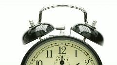 nostalgic alarm clock - stock footage