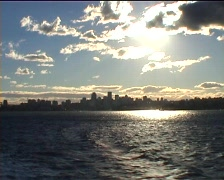 Northern part of Sydney Stock Footage